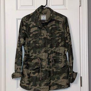 Army design utility jacket